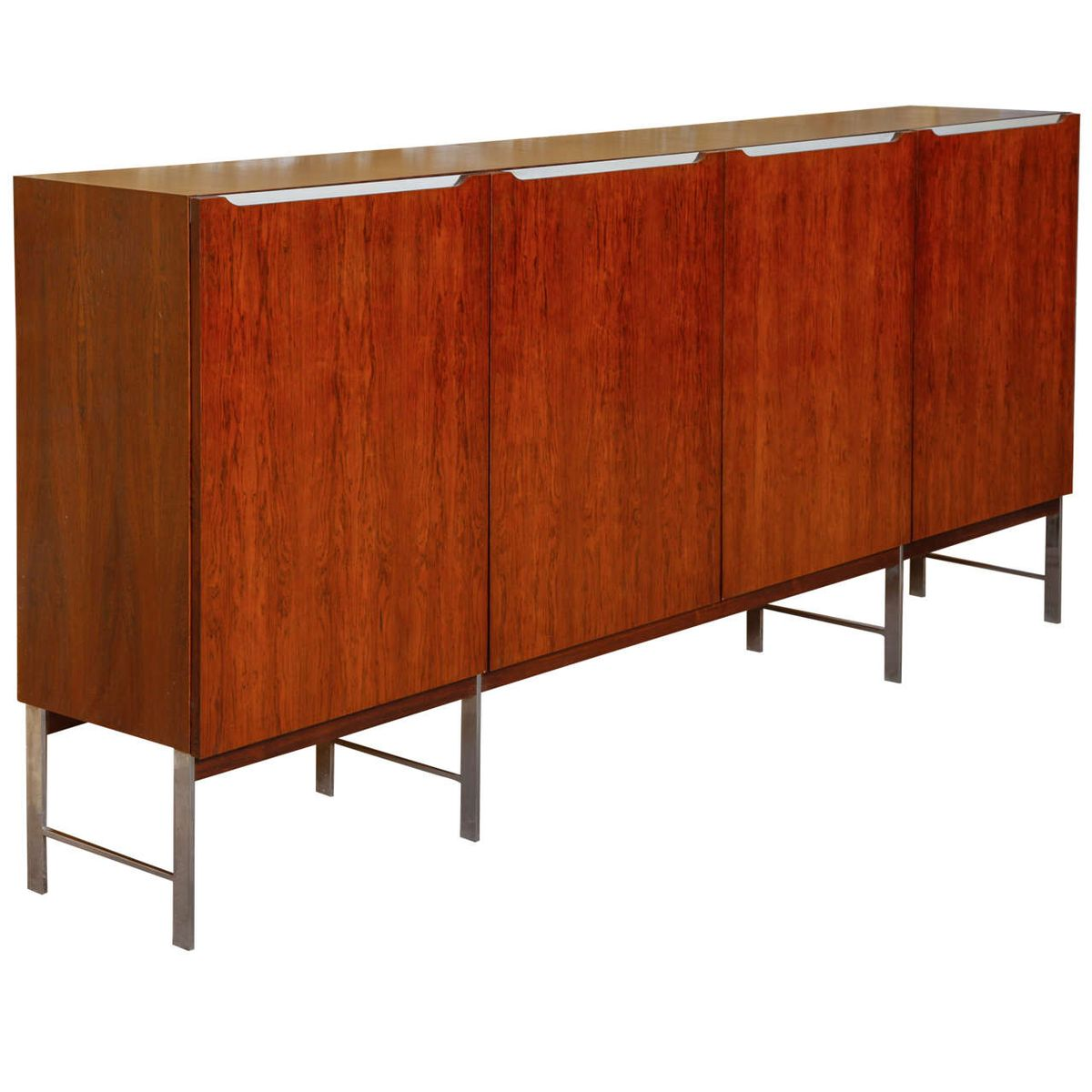 mid century rosewood sideboard by fristho 1960s for sale. Black Bedroom Furniture Sets. Home Design Ideas