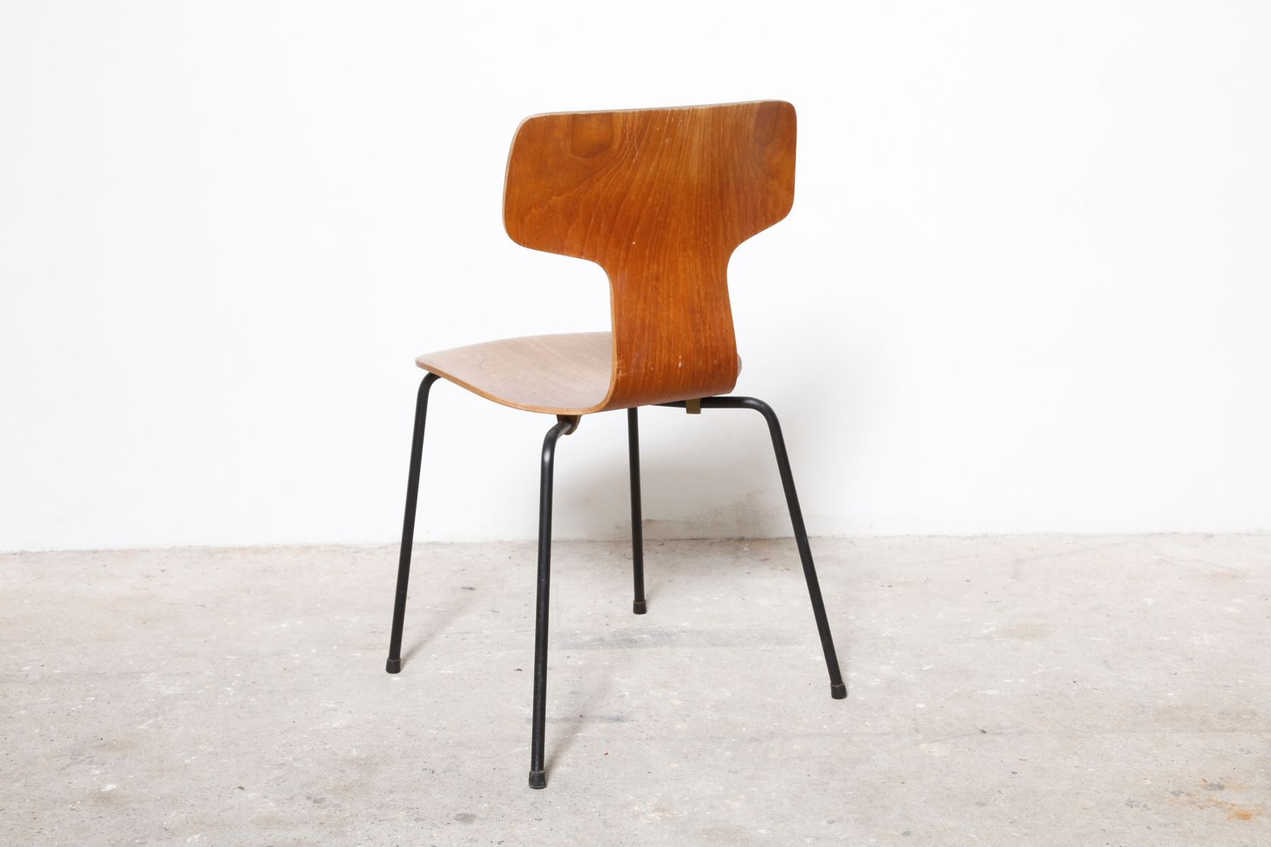 3103 chair by arne jacobsen for fritz hansen 1960s for sale at pamono. Black Bedroom Furniture Sets. Home Design Ideas