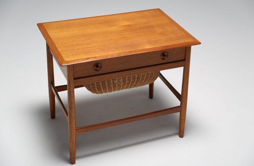 D nischer teak n htisch 1960er bei pamono kaufen for Table 6 km turquie