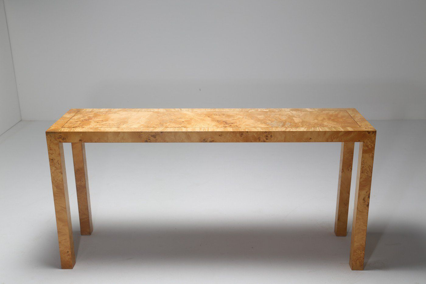 Table console en bois de broussin par henderson en vente for Table 6 km turquie