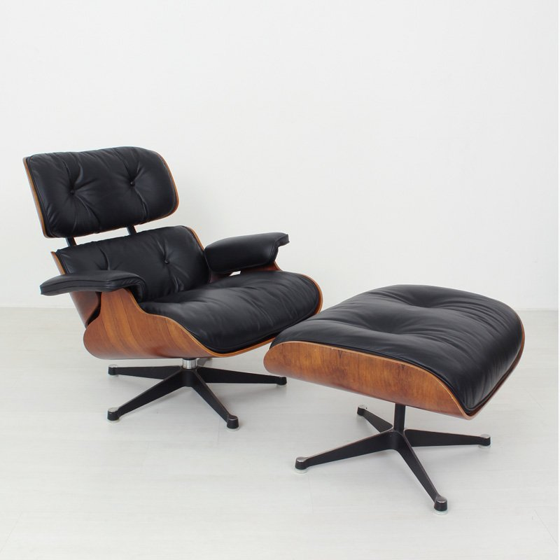 eames lounge chair herman miller for sale at pamono. Black Bedroom Furniture Sets. Home Design Ideas