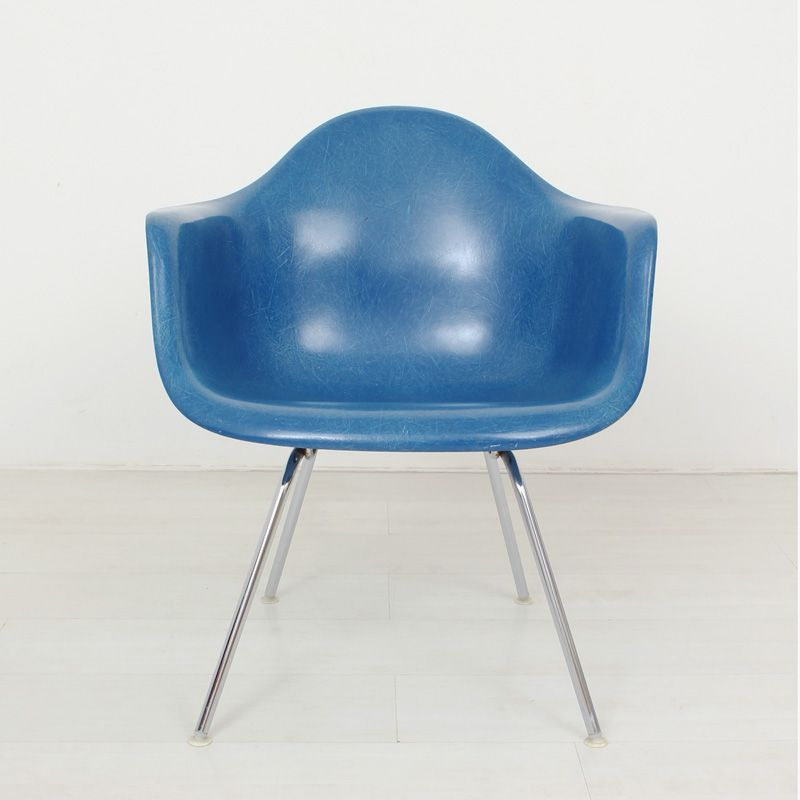 fiberglass chair by ray charles eames for herman miller vitra for sale at pamono. Black Bedroom Furniture Sets. Home Design Ideas