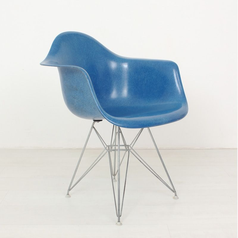 Fiberglass Chair by Ray & Charles Eames for Herman Miller