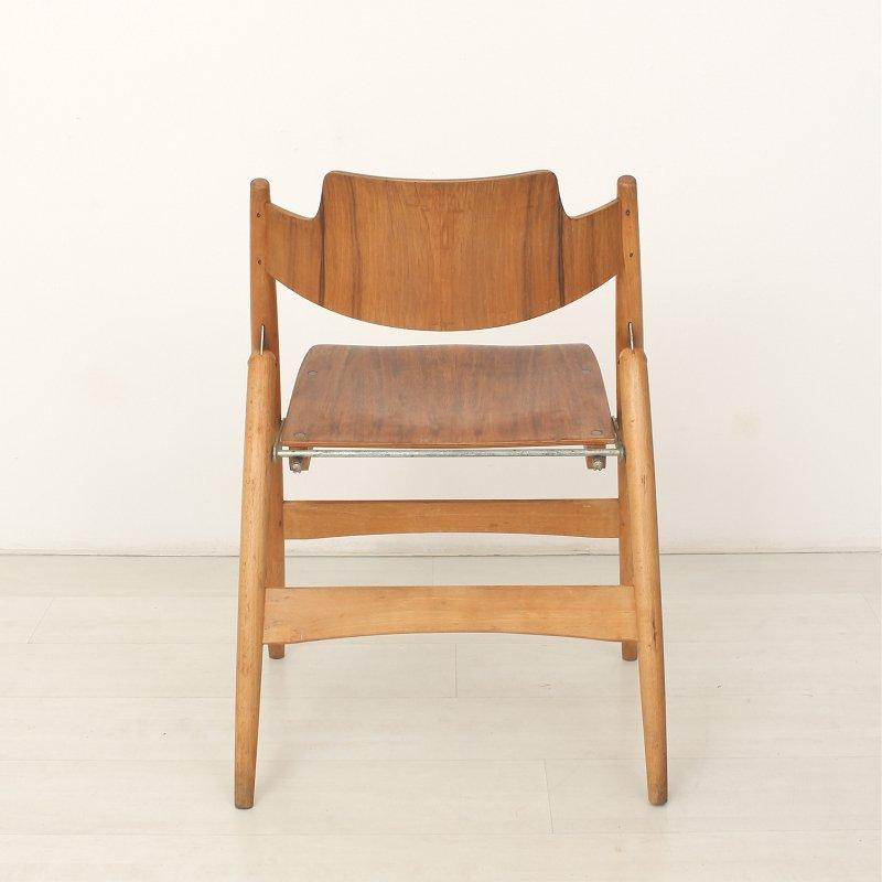 se18 klappbarer stuhl von egon eiermann f r wilde spieth. Black Bedroom Furniture Sets. Home Design Ideas