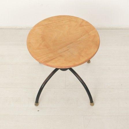 federdrehocker von egon eiermann f r wilde spieth 1950er bei pamono kaufen. Black Bedroom Furniture Sets. Home Design Ideas