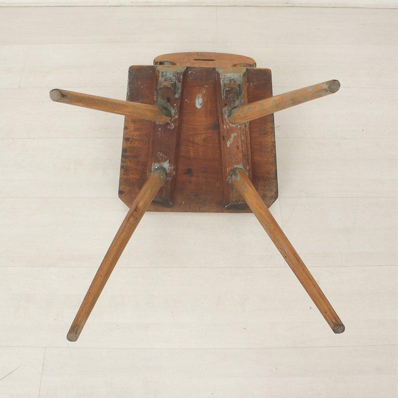 antiker esszimmerstuhl aus tannenholz 1850er bei pamono kaufen. Black Bedroom Furniture Sets. Home Design Ideas
