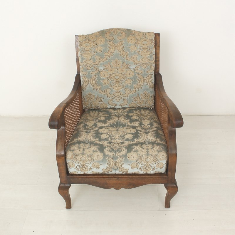Vintage Armchair in Antique Style for sale at Pamono