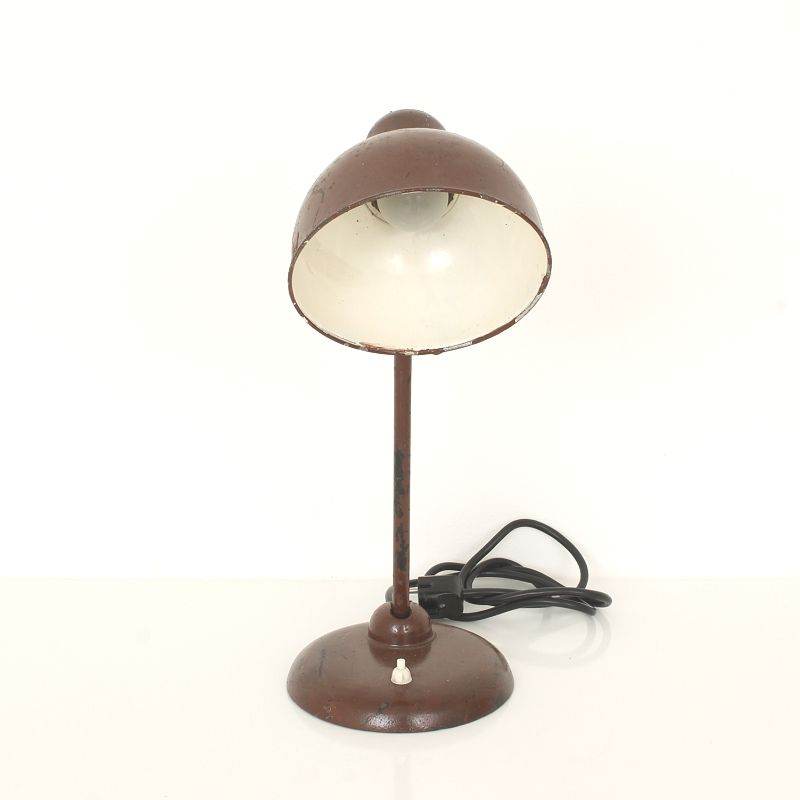bauhaus kaiser idell 6556 table lamp by christian dell for kaiser leuchten for sale at pamono. Black Bedroom Furniture Sets. Home Design Ideas