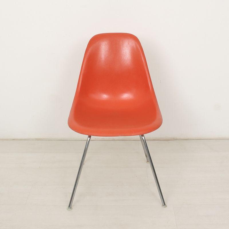oranger side chair von charles ray eames f r herman miller vitra bei pamono kaufen. Black Bedroom Furniture Sets. Home Design Ideas