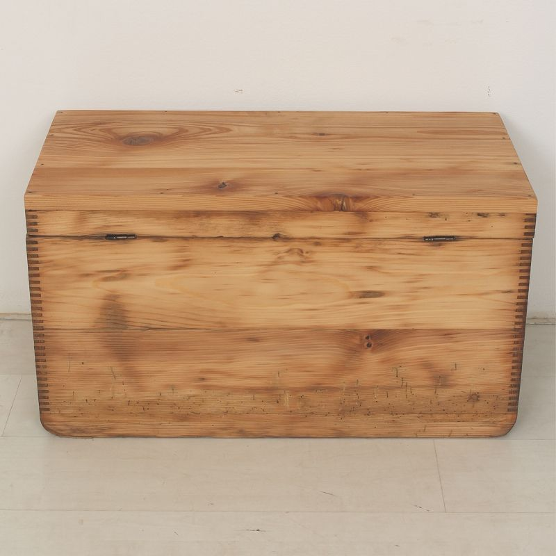 Small wooden box bench side table 1900 for sale at pamono Wooden bench for sale