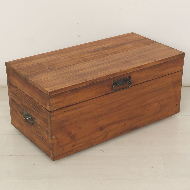 Antique wooden crate 1900 for sale at pamono for Old wooden crates