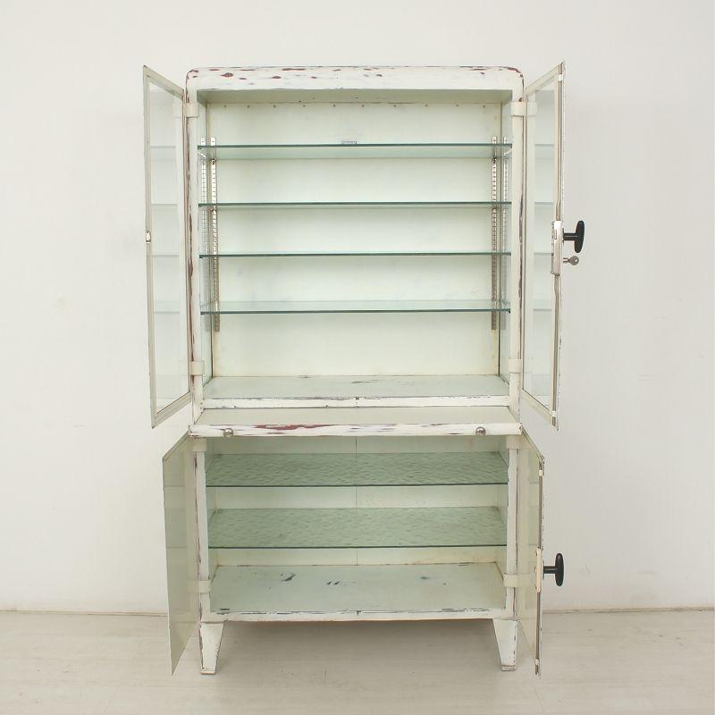 vintage display case with 6 glass shelves for sale at pamono. Black Bedroom Furniture Sets. Home Design Ideas
