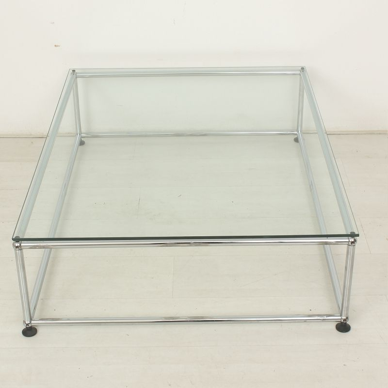 coffee table from usm haller 1960s for sale at pamono. Black Bedroom Furniture Sets. Home Design Ideas