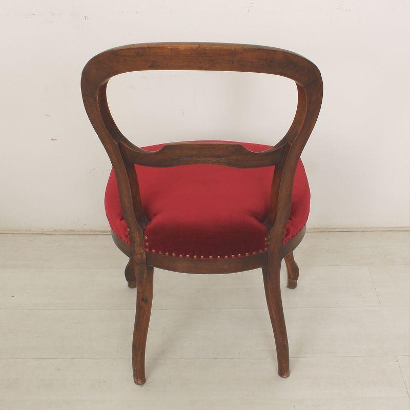 chaise louis philippe antique 1870s set de 2 en vente. Black Bedroom Furniture Sets. Home Design Ideas
