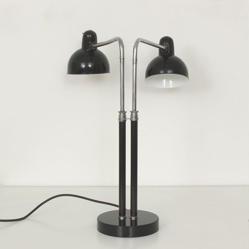 6580 doppelleuchte von kaiser leuchten 1930er bei pamono. Black Bedroom Furniture Sets. Home Design Ideas
