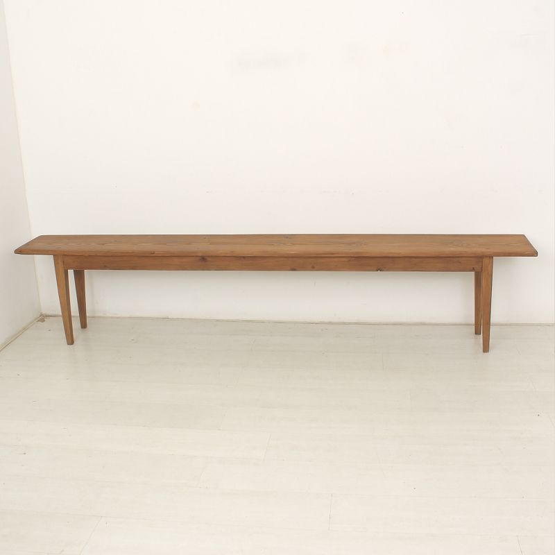 Vintage German Wooden Bench 1900s For Sale At Pamono