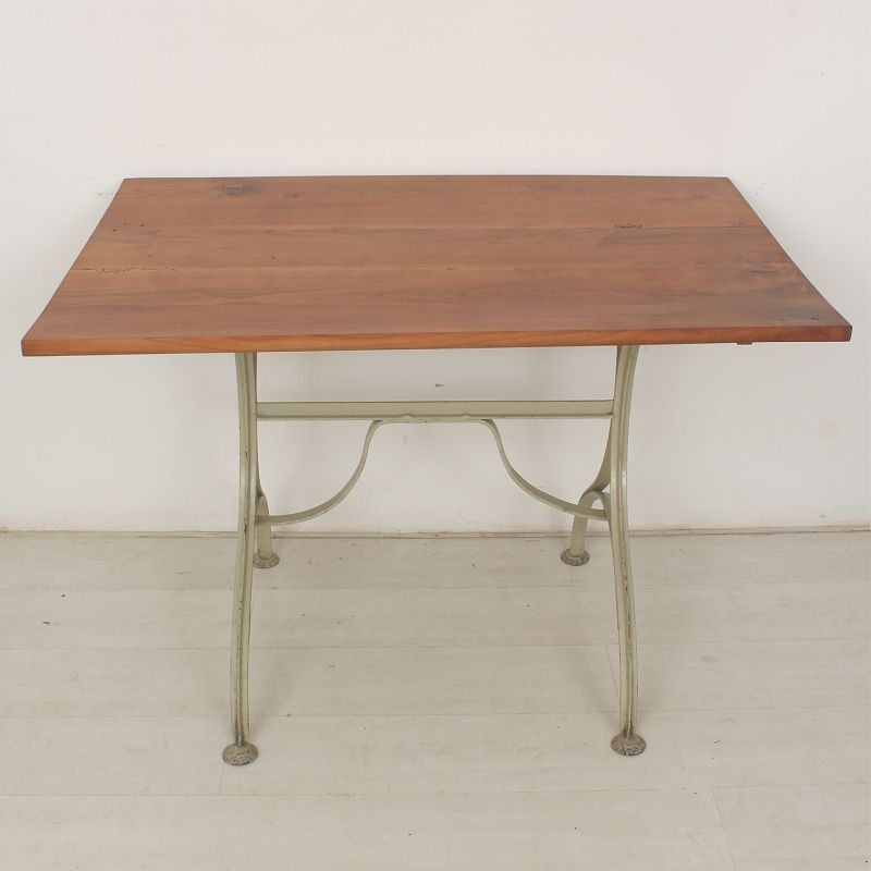 Antique cherry wood dining table for sale at pamono for Cherry dining table