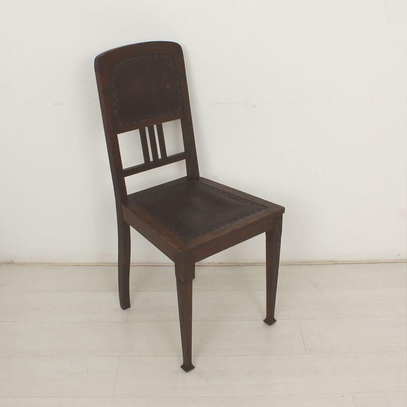 antike jugendstil st hle 4er set bei pamono kaufen. Black Bedroom Furniture Sets. Home Design Ideas