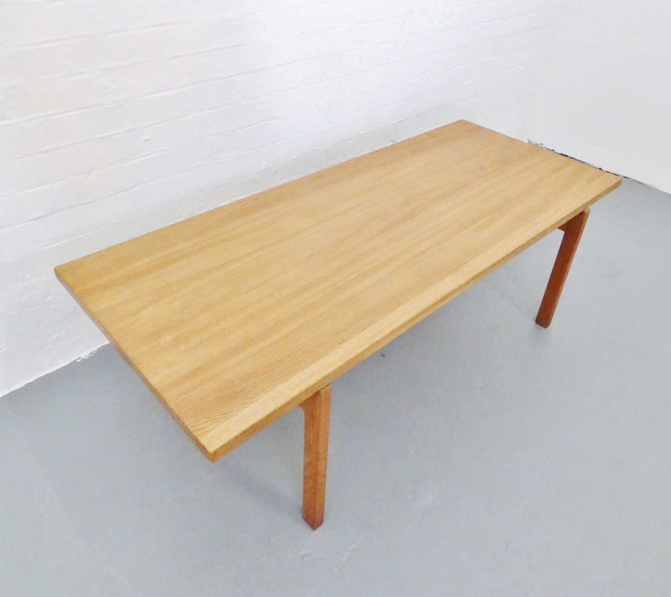 Oak Coffee Table By Hans Wegner For Andreas Tuck 1950s For Sale At Pamono