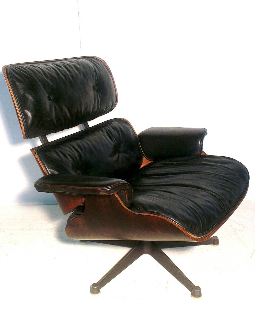 lounge stuhl von charles eames f r herman miller 1956 bei pamono kaufen. Black Bedroom Furniture Sets. Home Design Ideas