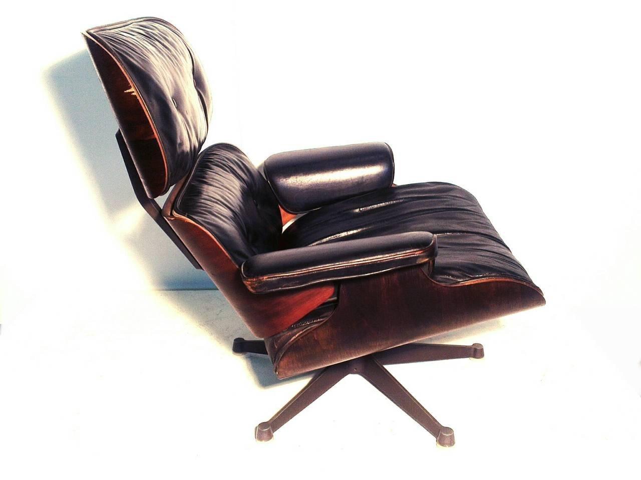 lounge stuhl von charles eames f r herman miller 1956 bei pamono kaufen. Black Bedroom Furniture Sets. Home Design Ideas