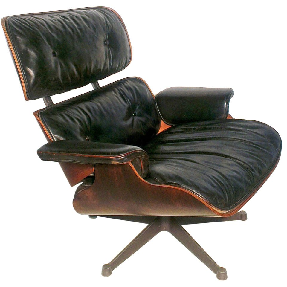 lounge chair by charles eames for herman miller 1956 for sale at. Black Bedroom Furniture Sets. Home Design Ideas