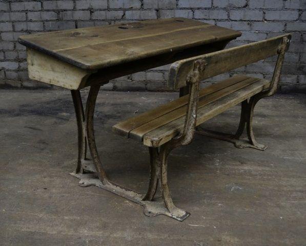 vintage school desk 1940s for sale at pamono. Black Bedroom Furniture Sets. Home Design Ideas