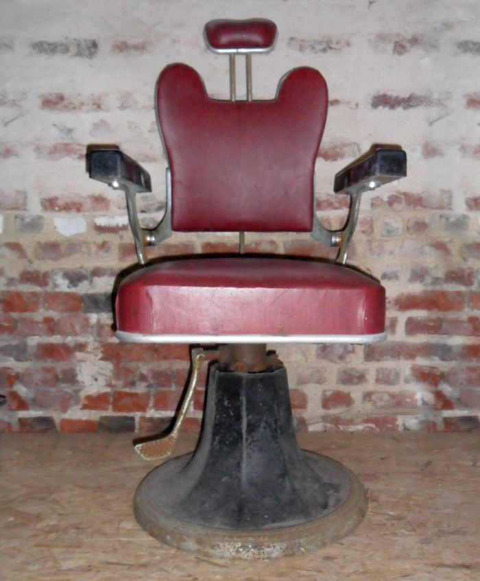 Barber Chair From Beautex 1950s For Sale At Pamono