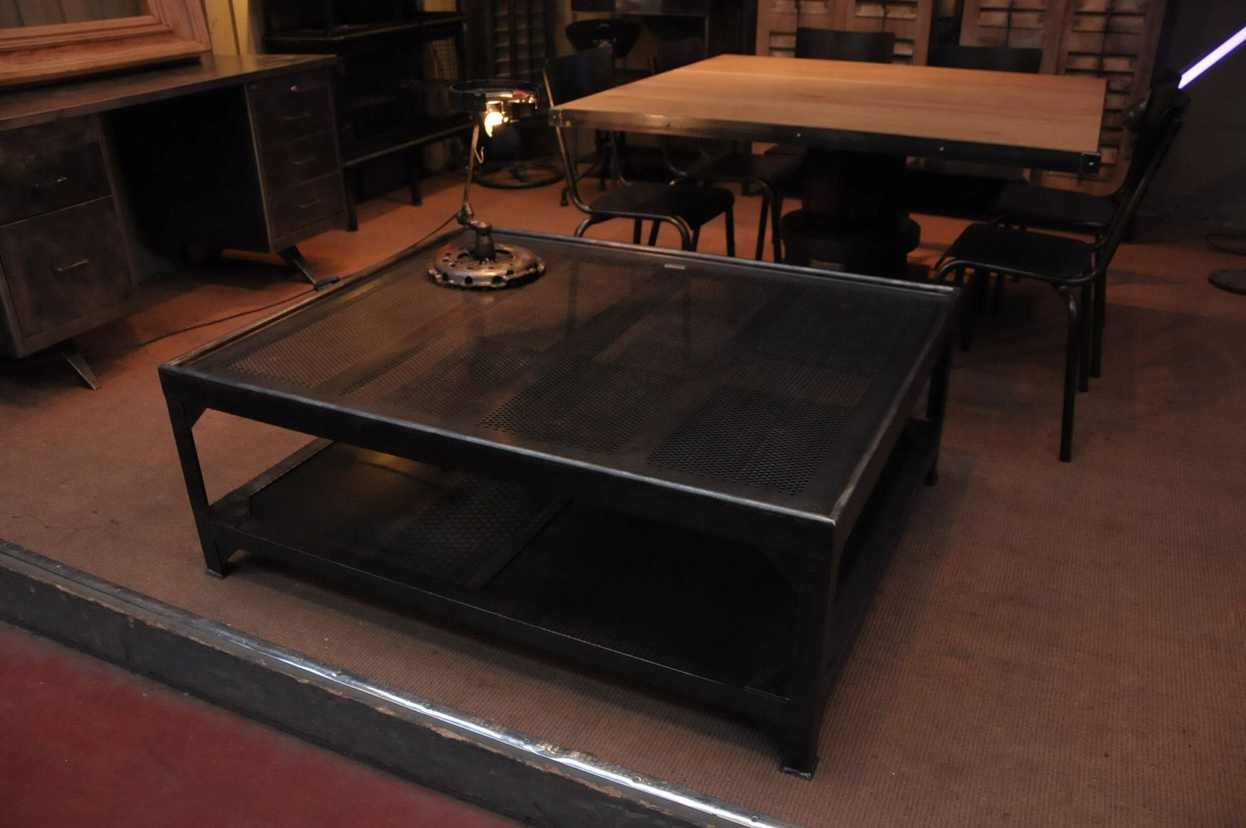 Industrial Dining Table for sale at Pamono : industrial dining table 6 from www.pamono.co.uk size 1807 x 1200 jpeg 149kB