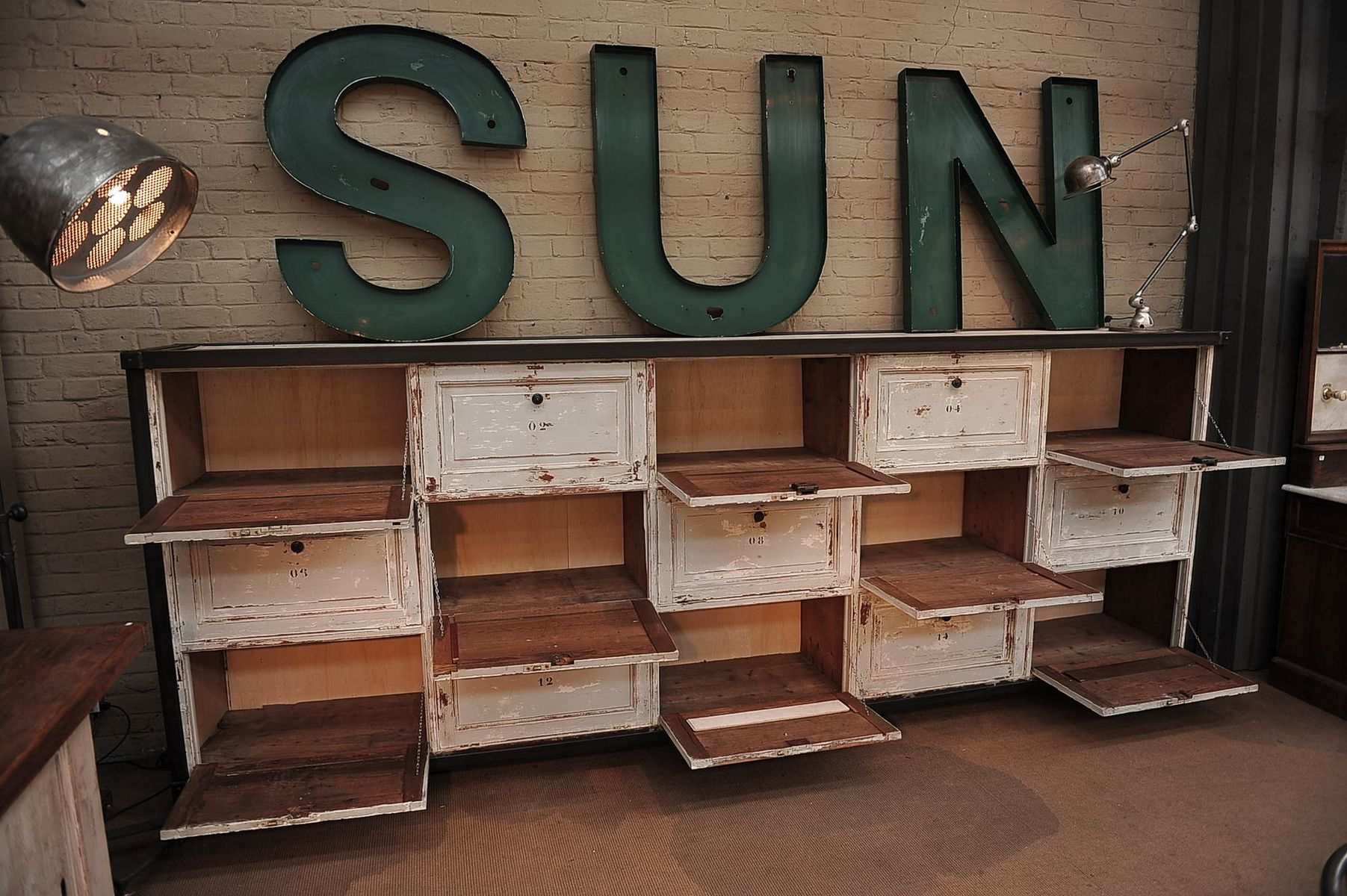Large drawer cabinet 1920s for sale at pamono for Kitchen drawers for sale