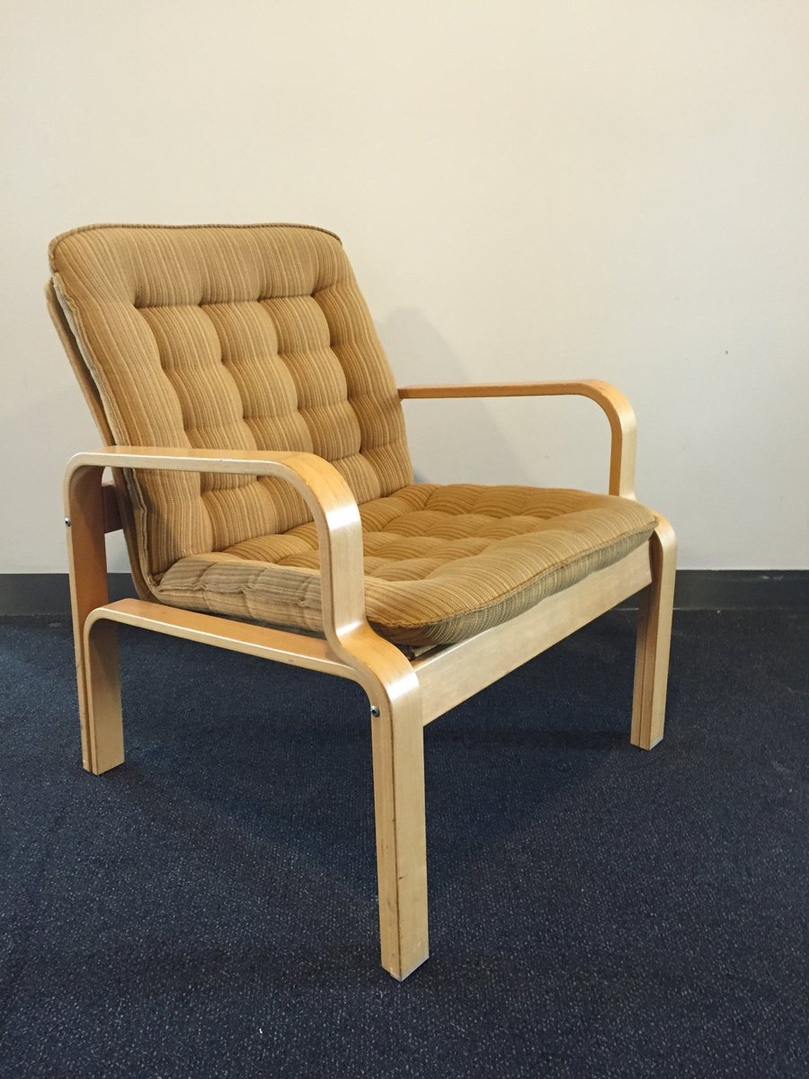 Vintage easy chair from kinnarps 1980s for sale at pamono for 1980s chair