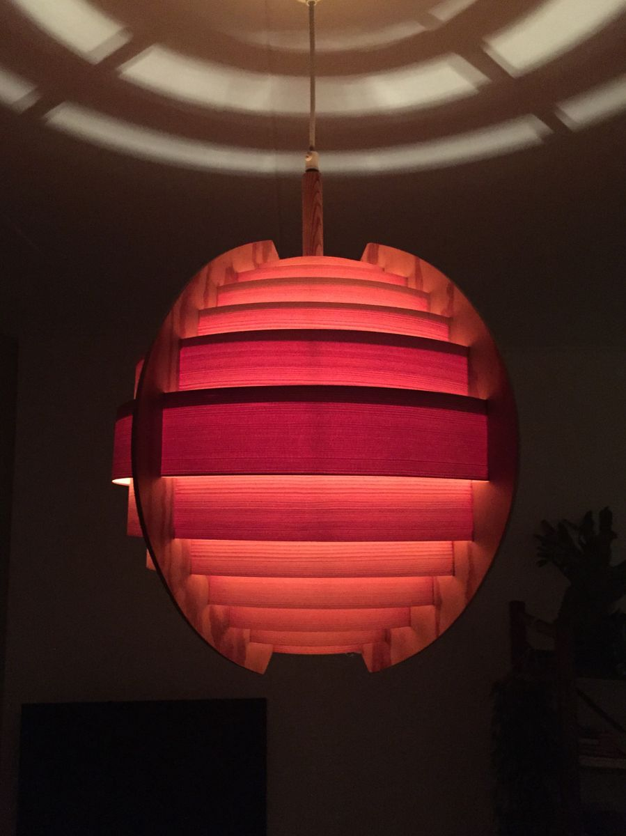 kiefernholz lampe von hans agne jakobsson f r markaryd sweden 1965 bei pamono kaufen. Black Bedroom Furniture Sets. Home Design Ideas