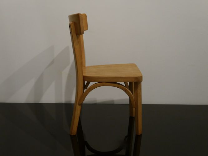 kindertisch und stuhl set von baumann 1950er bei pamono. Black Bedroom Furniture Sets. Home Design Ideas