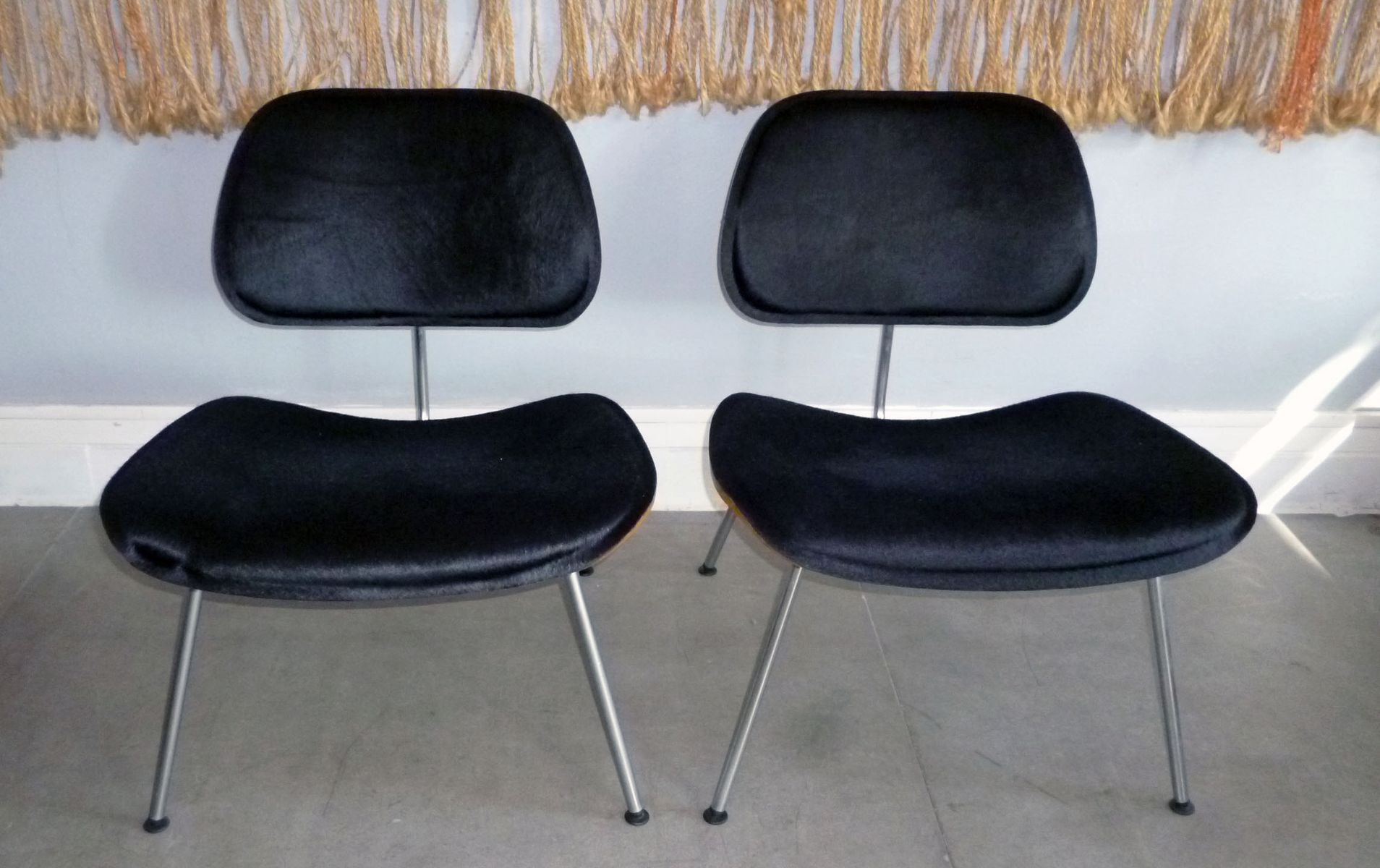 vintage lcm chairs by charles and ray eames for herman miller 1960s