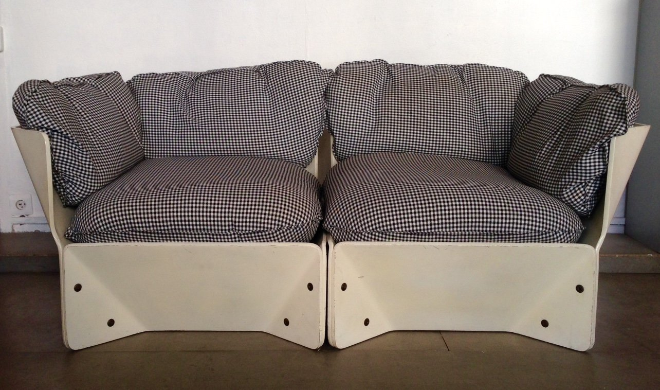 White Danish Sofa By Knudsen Lind 1960 For Sale At Pamono