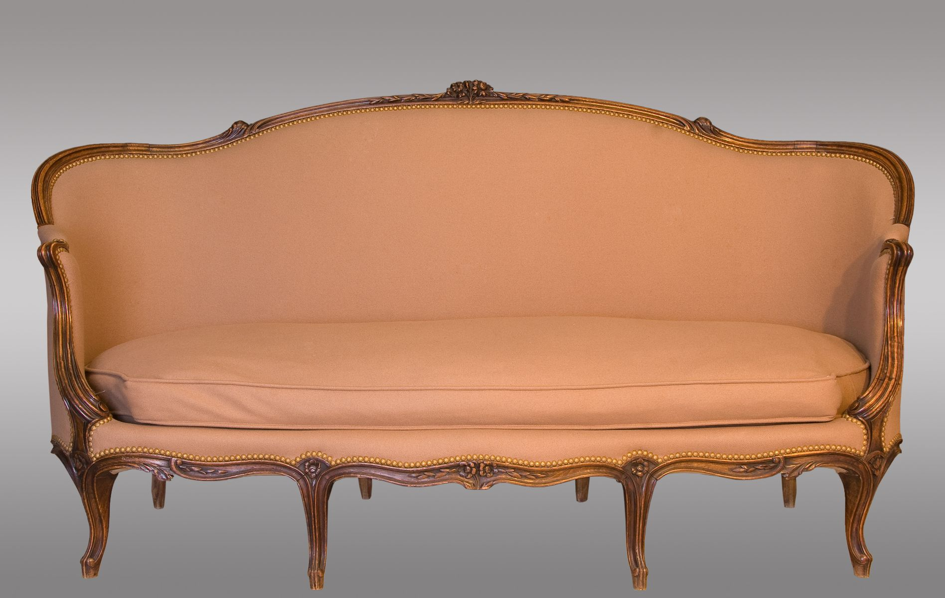 Antique french louis xv style canap for sale at pamono for Canape louis 15
