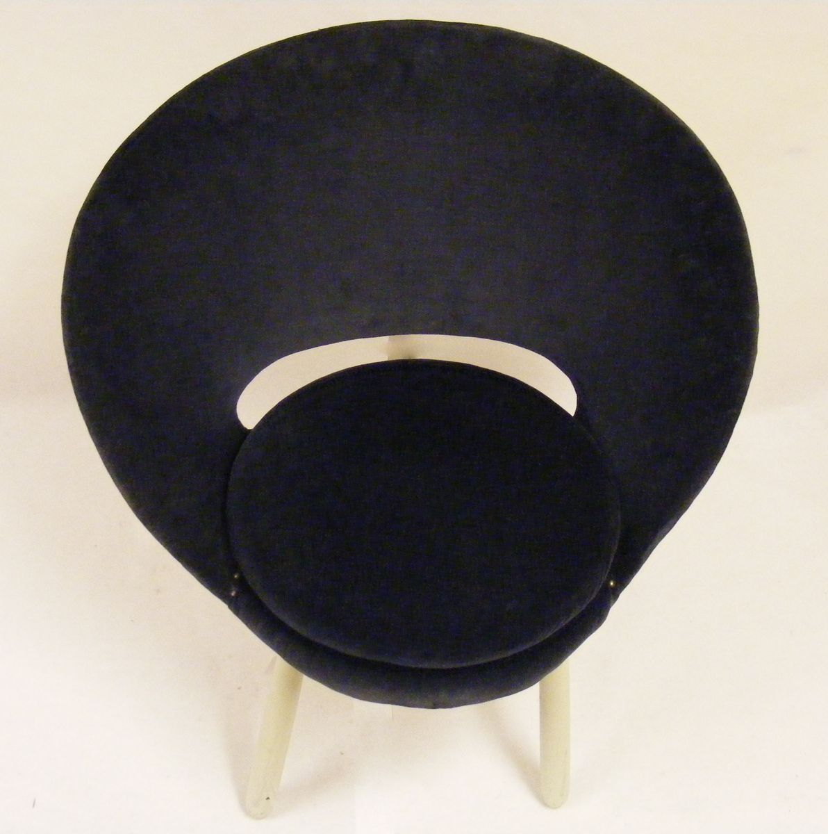 Small nordic egg chair 1950s for sale at pamono - Second hand egg chair ...