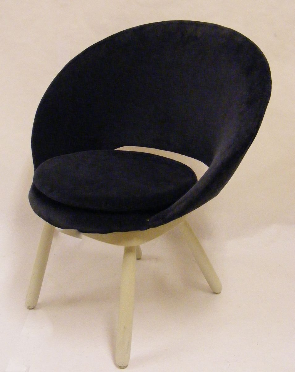 kleiner nordischer egg chair 1950er bei pamono kaufen. Black Bedroom Furniture Sets. Home Design Ideas