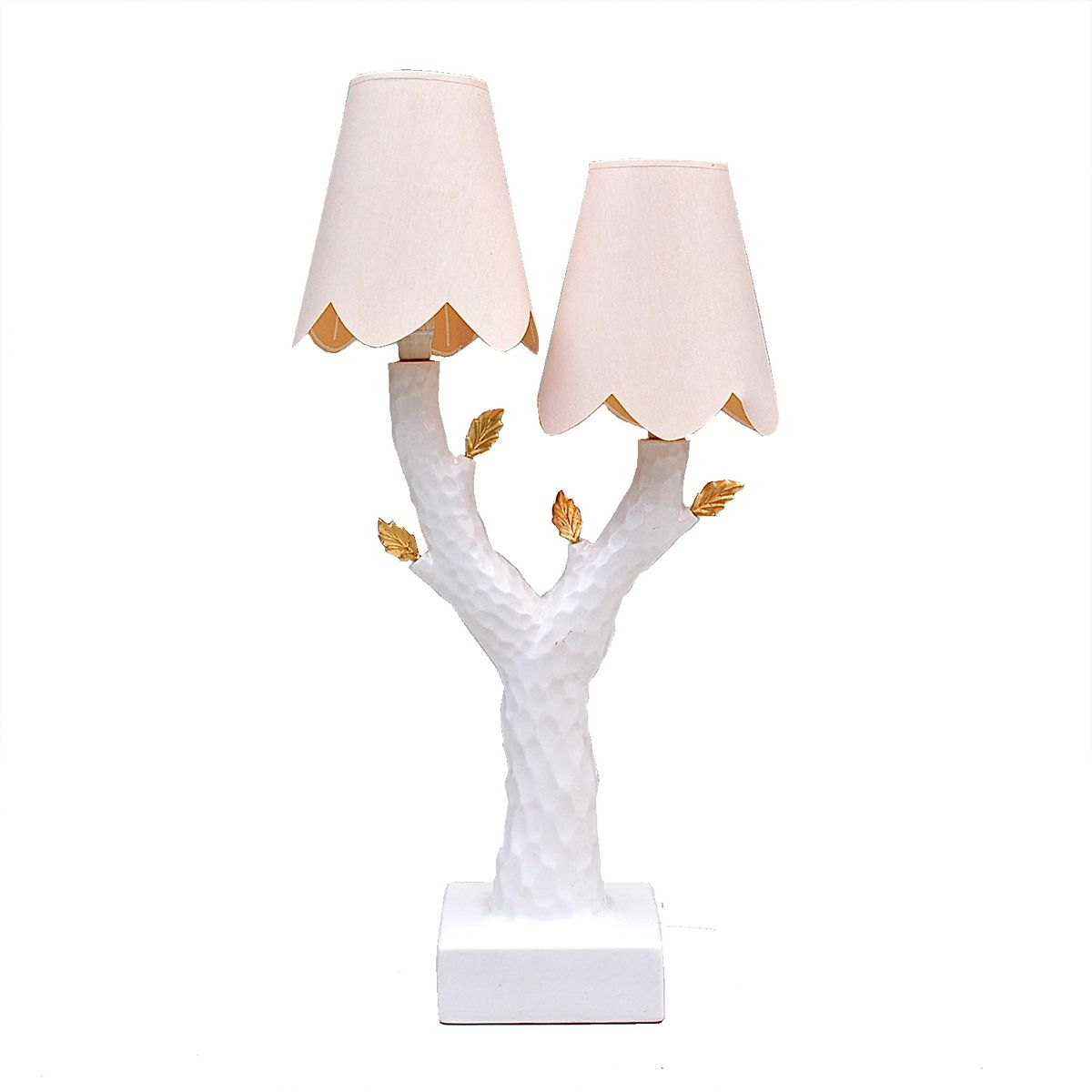 Vintage Tree Branch Ceramic Table Lamp from Maison Le Dauphin for ...