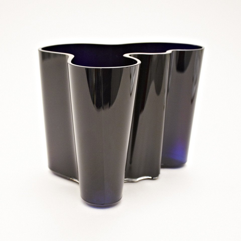 savoy vase by alvar aalto for iitala 1936 for sale at pamono. Black Bedroom Furniture Sets. Home Design Ideas