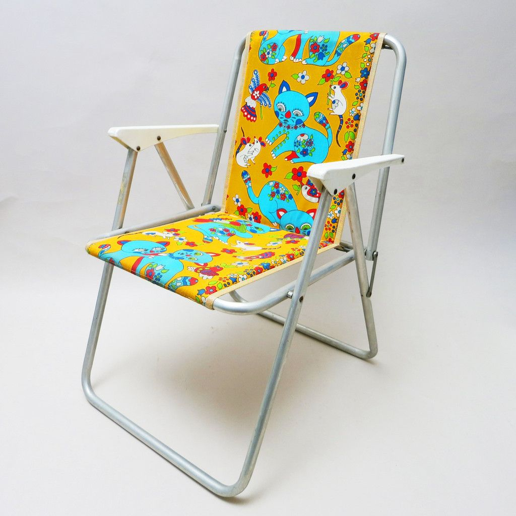 Vintage camping chair - Vintage Children S Camping Chair 1960s