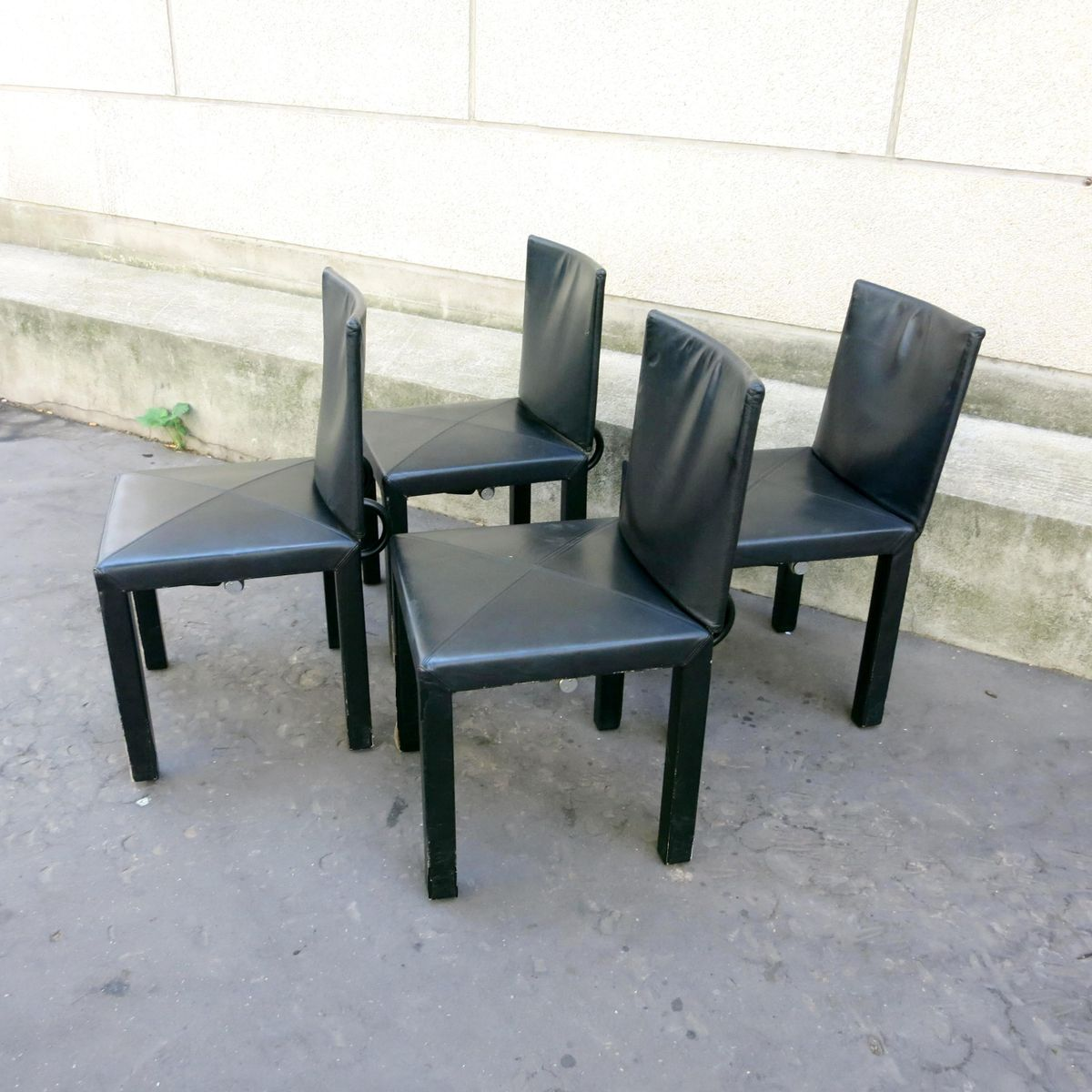 Arcadia dining chairs by paolo piva for b b italia 1980s for 1980s chair