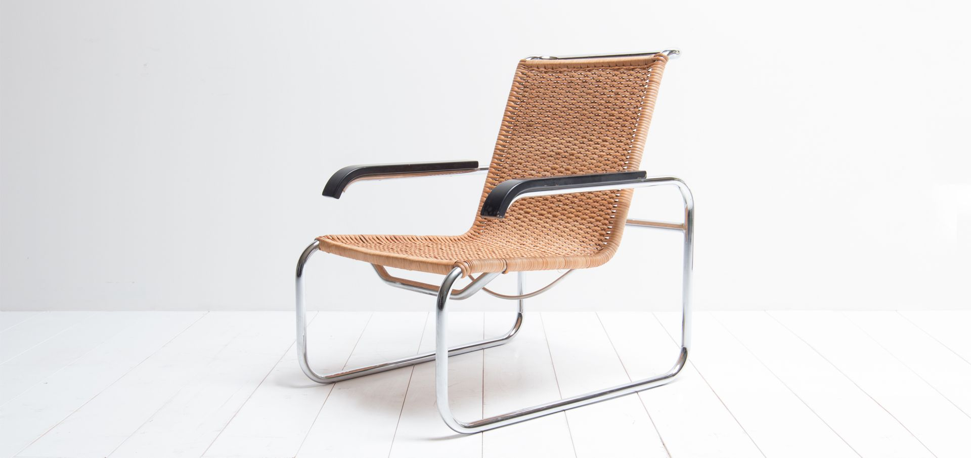 vintage model b35 chair by marcel breuer for thonet for sale at pamono. Black Bedroom Furniture Sets. Home Design Ideas