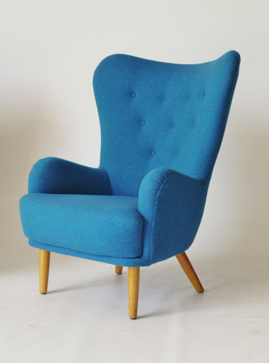 Light Blue Ernest Race Da1 Armchair 1950s For Sale At Pamono