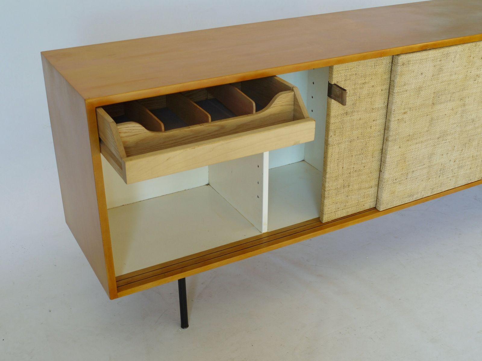 enfilade mod le 116 par florence knoll pour knoll international 1950s en vente sur pamono. Black Bedroom Furniture Sets. Home Design Ideas