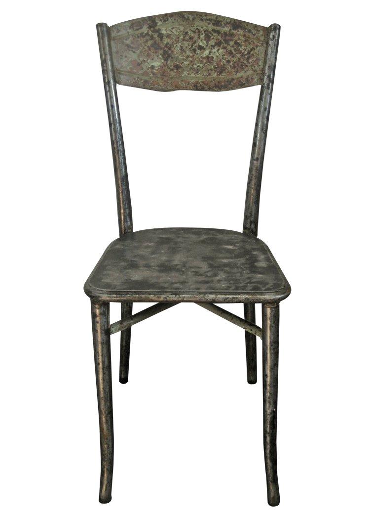 Industrieller stuhl aus metall bei pamono kaufen for Stuhl industrial