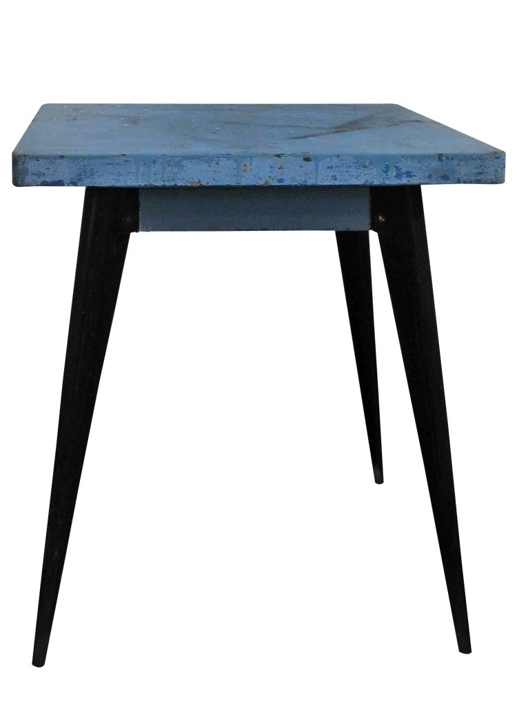 Tolix table by xavier pauchard 1950s for sale at pamono for Table exterieur tolix