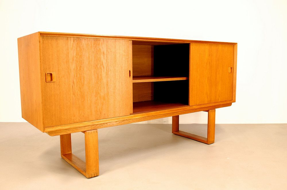 d nisches sideboard aus teak bei pamono kaufen. Black Bedroom Furniture Sets. Home Design Ideas