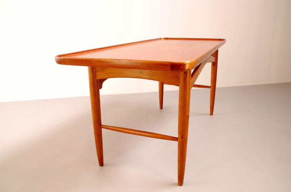 Danish Teak Coffee Table For Sale At Pamono