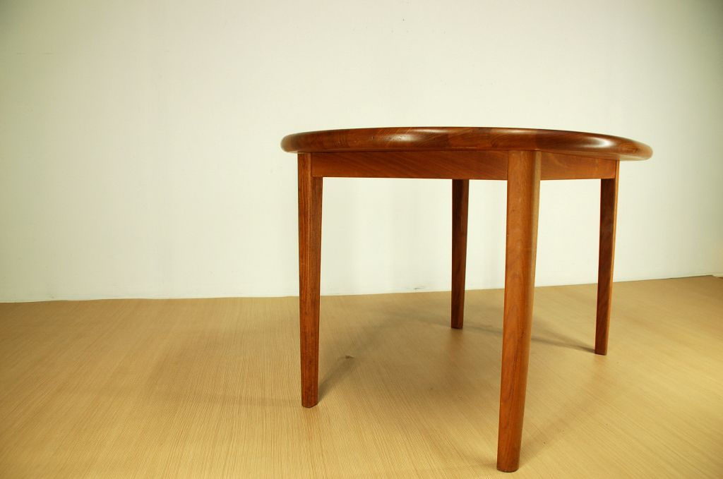 Solid Teak Dining Table From Korup Design For Sale At Pamono